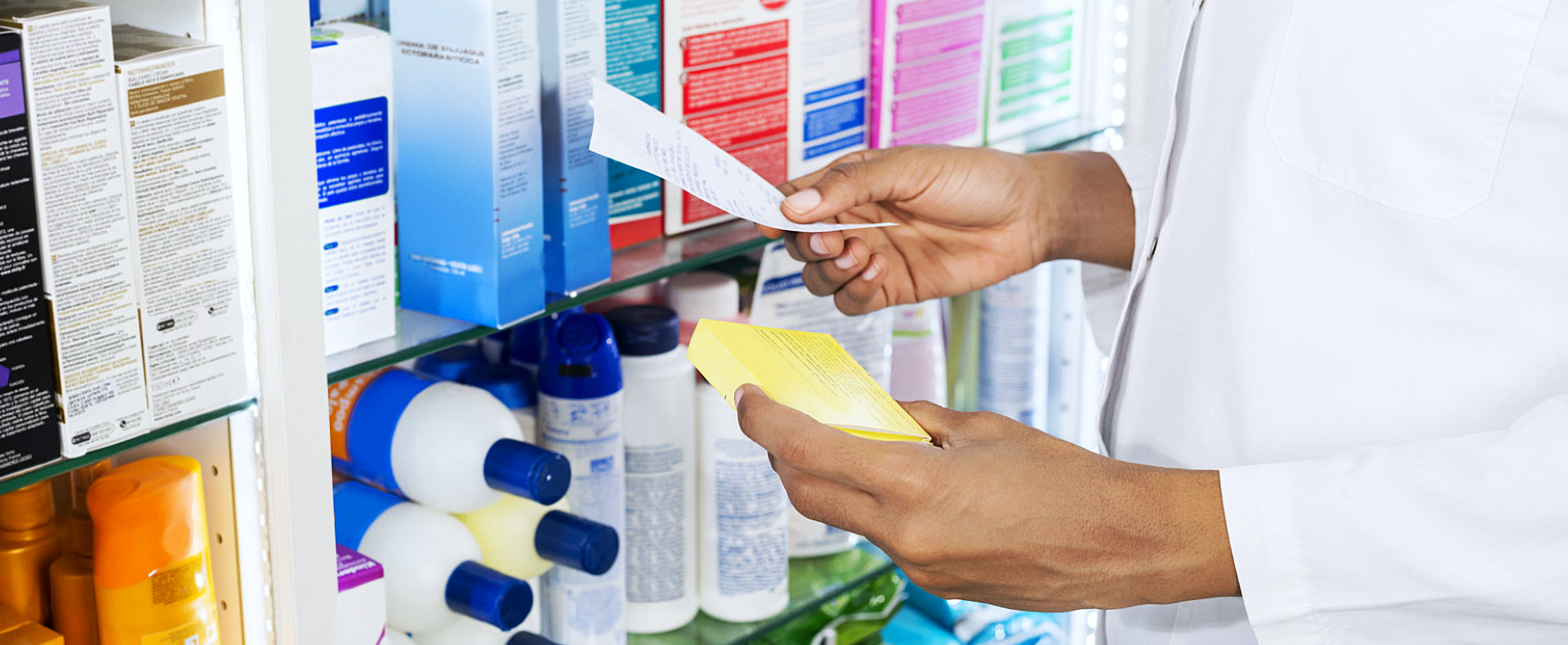 pharmacist finds medicines written in the paper